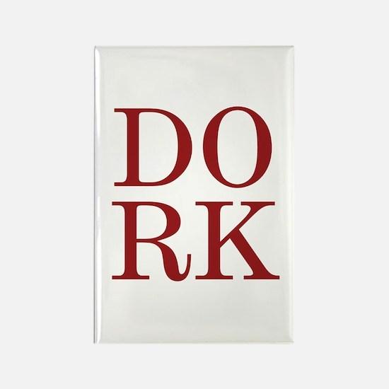 DORK Rectangle Magnet