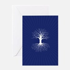 Sacred Tree Card Greeting Cards