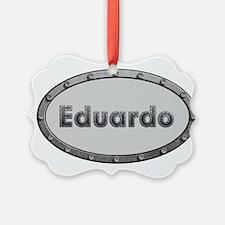 Eduardo Metal Oval Ornament