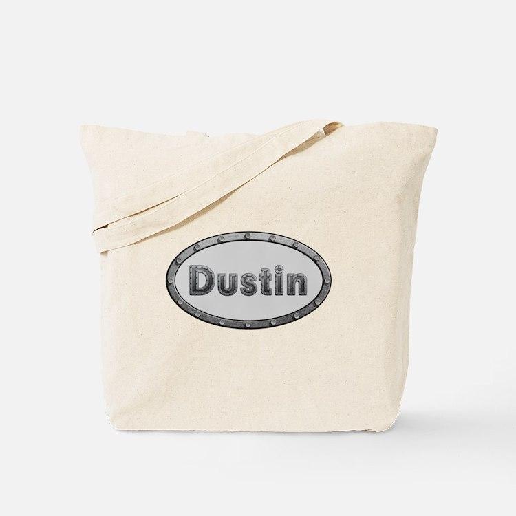 Dustin Metal Oval Tote Bag