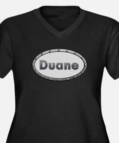 Duane Metal Oval Plus Size T-Shirt