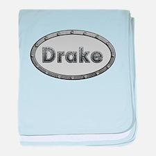 Drake Metal Oval baby blanket