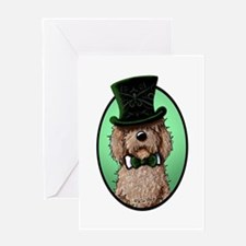 St. Paddy's Doodle Greeting Card