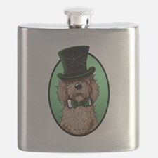 St. Paddy's Doodle Flask