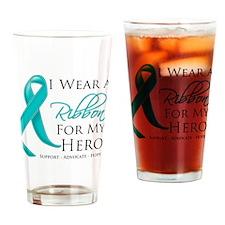 Interstitial Cystitis Hero Drinking Glass