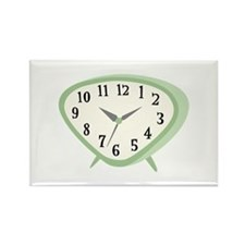 Retro Clock Numbers Magnets