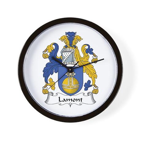 Lamont Wall Clock