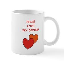 sky diving Mugs