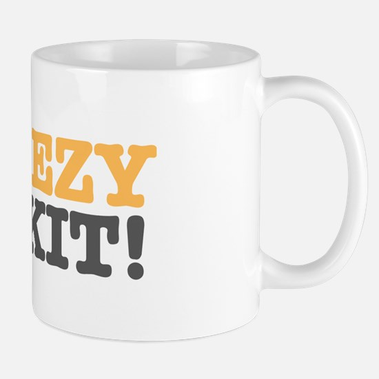 CHEEZY BISKIT! Mugs