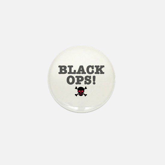 BLACK OPS Mini Button