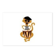 Retro Bongo Cat Postcards (Package of 8)