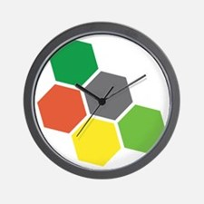 Settlers Resources Wall Clock