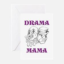 Drama Mama Greeting Cards