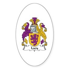 Lacy Oval Decal