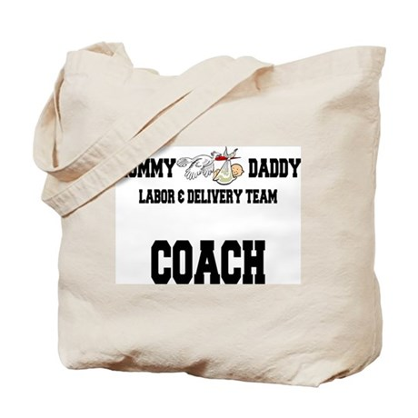 Labor Coach Tote Bag