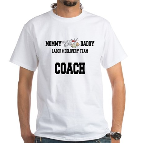 Labor Coach White T-Shirt