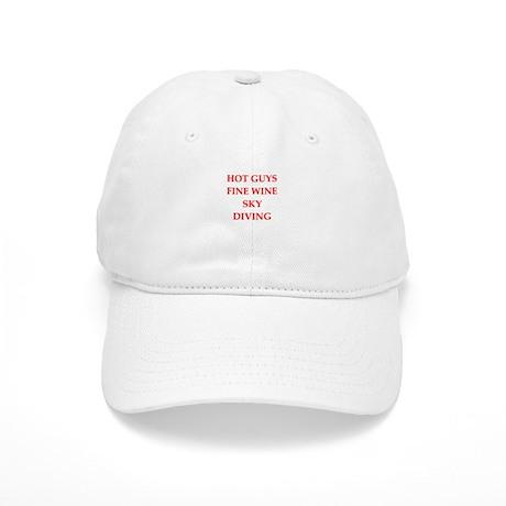 sky diving Baseball Cap