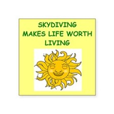 skydiving Sticker