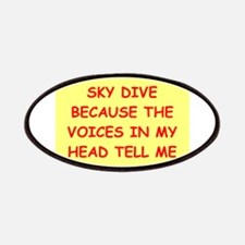 sky diving Patches