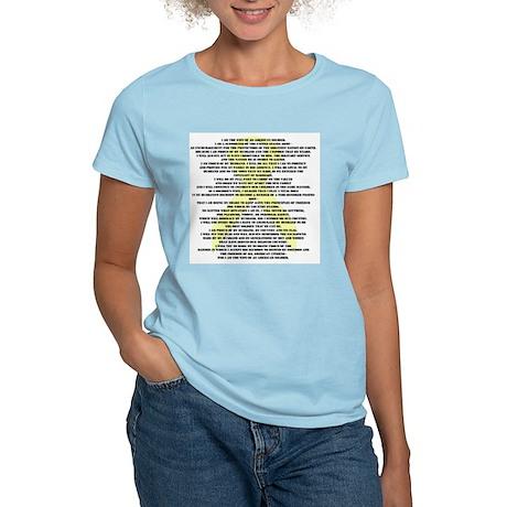 10x10_apparelcreed.jpg T-Shirt