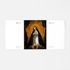 St Margaret Mary Alacoque Aluminum License Plate
