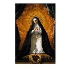 St Margaret Mary Alacoque Postcards (Package of 8)
