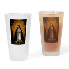 St Margaret Mary Alacoque Drinking Glass