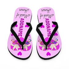 Maid Of Honor Love Flip Flops
