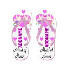 Sweet Maid Of Honor Flip Flops