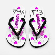 Bridal Love Flip Flops