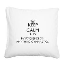 Keep calm by focusing on Rhythmic Gymnastics Squar