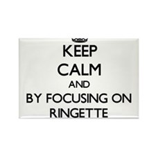 Keep calm by focusing on Ringette Magnets