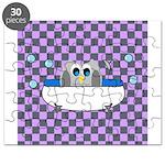 OWLSHOWERCURTAININTUBCHECKERBOARD3 Puzzle