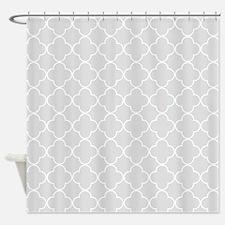 Light Grey Shower Curtains Light Grey Fabric Shower Curtain Liner