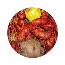 Crawfish Ornament (Round)