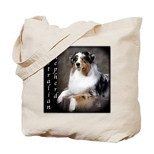 Australian Shepherd-Blue Tote Bag
