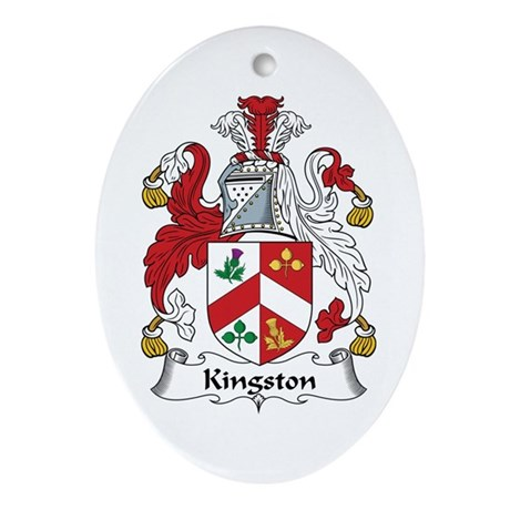 Kingston Oval Ornament