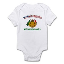Made in USA with Mexican part Infant Bodysuit