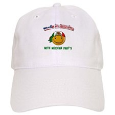Made in USA with Mexican part Cap