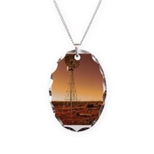 The outback windmill Necklace