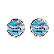 Time to Fly Away Cufflinks