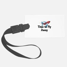 Time to Fly Away Luggage Tag