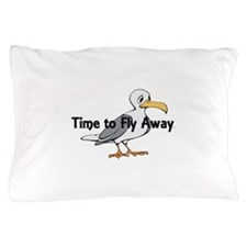 Time to Fly Away Pillow Case