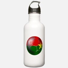Burkina Faso Football Water Bottle