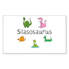 Silasosaurus Rectangle Decal
