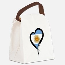 Heart Nation 04 Canvas Lunch Bag