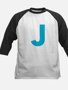 Letter J Blue Baseball Jersey