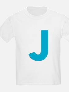 Letter J Blue T-Shirt
