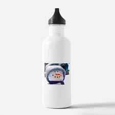 Cute Snowman Face Water Bottle