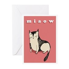 Miaow Greeting Cards